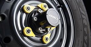 Wheel nut indicators & ABS + EBD